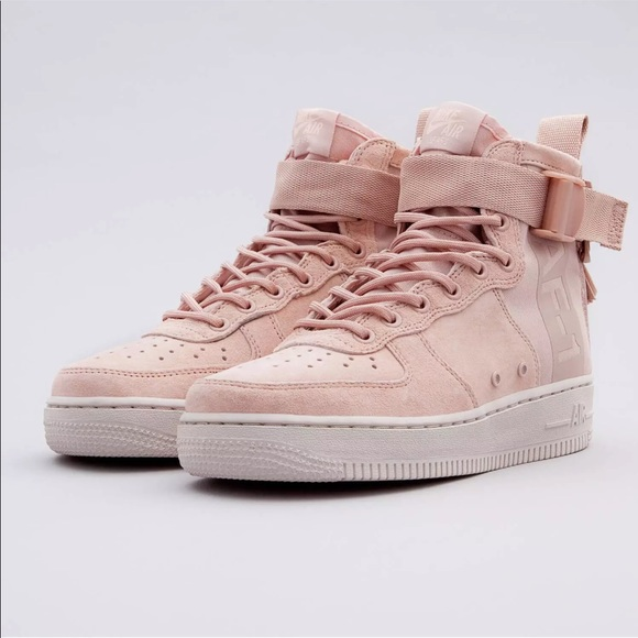promo code 5388b b0bc1 Nike SF Air Force 1 Mid Light Pink Blush NEW
